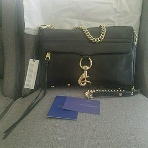 LARGE  Rebecca Minkoff MAC Crossbody + Bag/Tassels